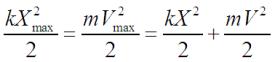 Закон сохранения энергии для гармонических колебаний