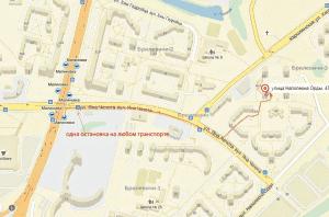 Мы на карте Минска